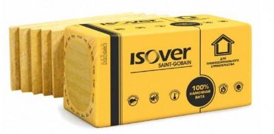 Изолятор ISOVER ФАСАД 135кг/м.куб. 600*1000*100мм