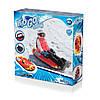 Одноместный надувной сани - тюбинг для катания Bestway 39054, 107 х 48 см, Цвет красный., фото 6