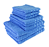 """Полотенце (50х90 см) махровое """"TerryLux Plus"""" голубое"""