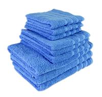 """Полотенце (50х90 см) махровое """"TerryLux Plus"""" голубое, фото 1"""