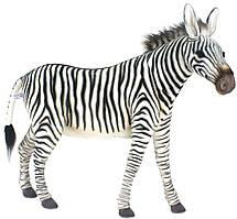 Hansa - Реалистичная мягкая игрушка Зебра, серия Animal Seat, 96 см