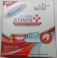 Полоски для отбеливания зубов Beaver Non-Peroxide Flash Strips Red