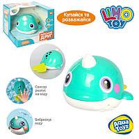 Игра для купания 8101, кит, 16см, свет, подвиж.детали, на бат-ке.