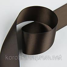 Двухсторонняя атласная лента №11 высокой плотности ПРЕМИУМ качества 4 см (бобина 100 ярд)