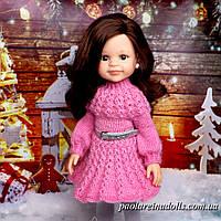 Платье с рукавом для кукол Паола Рейна