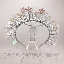 Обруч Корона для Снежинки или Снежной Королевы обруч снежинка ободок корона
