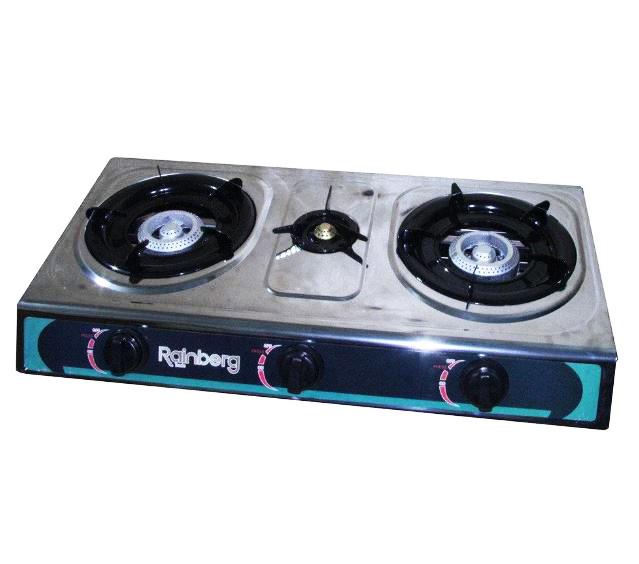 Газовая плита на две конфорки Rainberg G-03