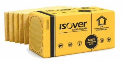 Изолятор ISOVER ФАСАД 135кг/м.куб. 600*1000*50мм