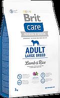 Брит Brit Care Adult Large Breed Lamb & Rice 3 kg (д/собак весом от 25 кг)