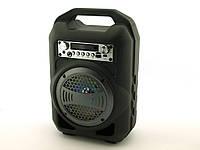 Портативная колонка BS-12 (Bluetooth, FM, USB, LED дисплей) black