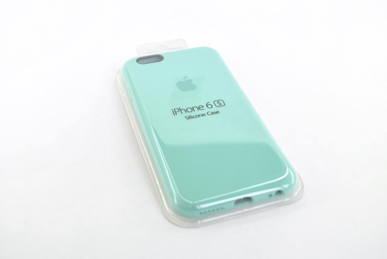 Чехол iPhone 7 /8 Silicone Case original FULL №14 mint