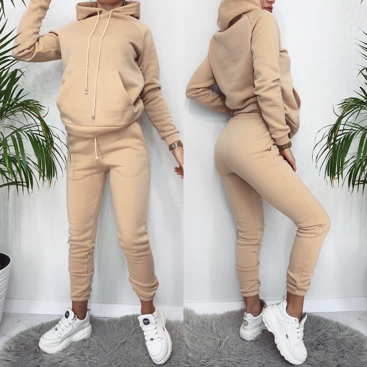 Женский теплый спортивный костюм ор222