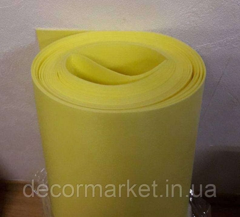 Изолон 2мм лимонный