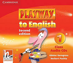 Playway to English 1 Class Audio CDs