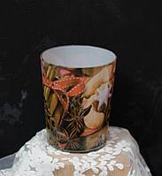 Арома свеча в стакане