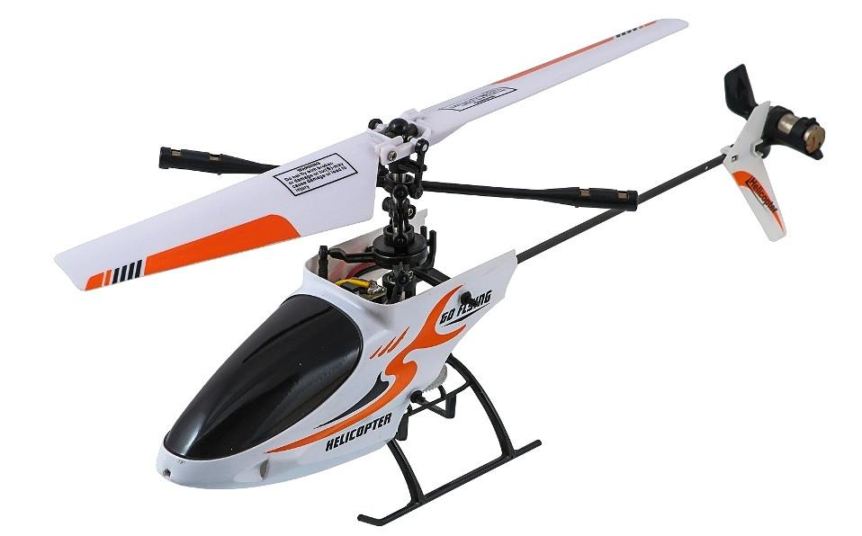 Вертолёт 4-к микро на радиоуправлении Great Wall Toys Xieda 9928 (оранжевый)