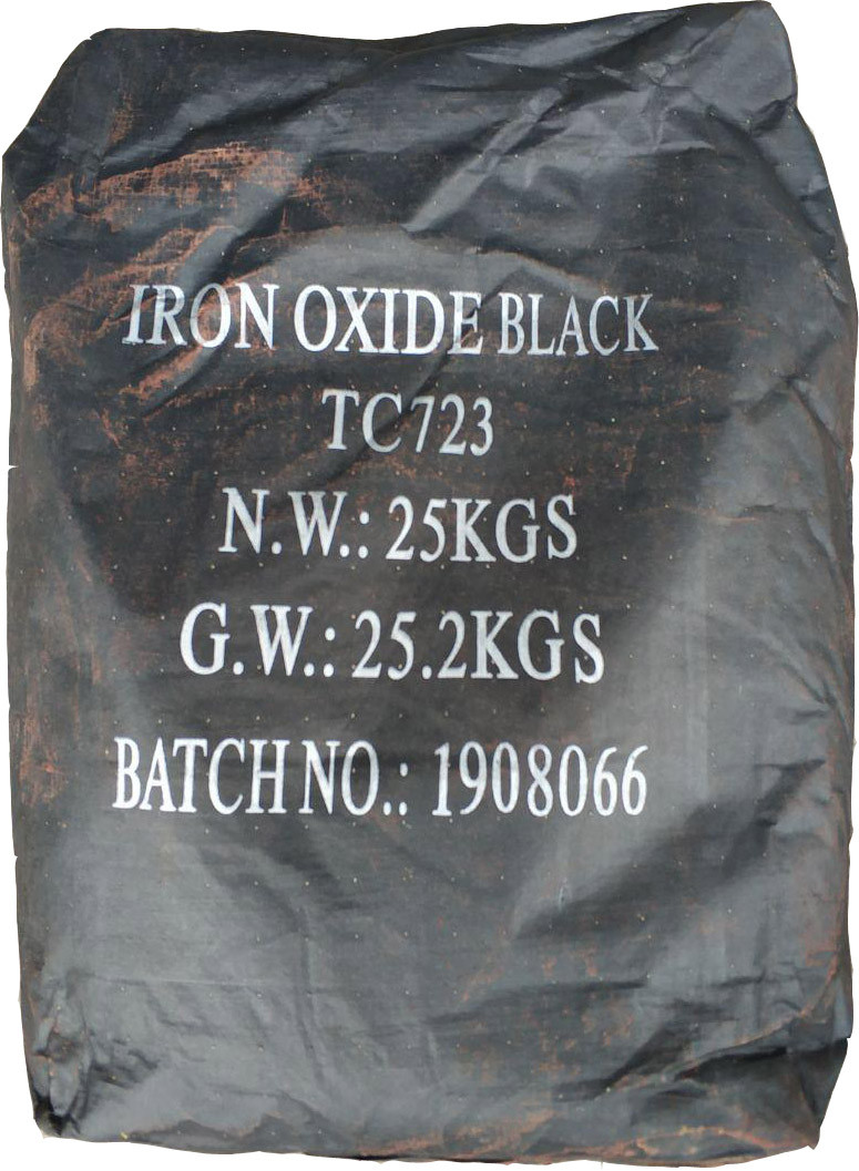 Пигмент чёрный железоокисный Tongchem TC723 сухой Китай 25 кг