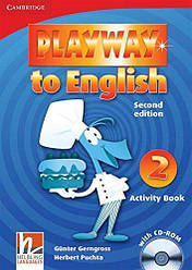 Playway to English 2 Activity Book with CD-ROM