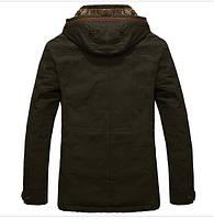 Мужское зимнее пальто. Модель М27-1., фото 4