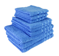 """Полотенце (40х70 см) махровое """"TerryLux Plus"""" голубое, фото 1"""