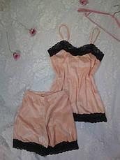 Пижама женская  с итальянским кружевом р 42-44-46, фото 2