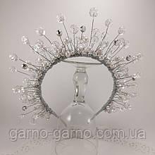Обруч Корона для Снежинки или Снежной Королевы обруч снежинка ободок