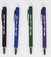 Ручка шариковая 815 пишет-стирает автоматическая, синяя уп40