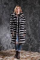 "Шуба из шиншиллы ""Черный бархат"" Natural chinchilla fur coats jackets"