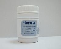 Stresstabs 600 с цинком-дефицит витаминов Египет