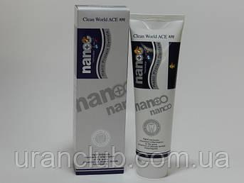 Зубная паста Clean World Ace Nano Silver с протеинами и серебром, 180 г