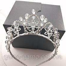 Корона снежинка хрустальная для Снежной королевы Корона снежинки