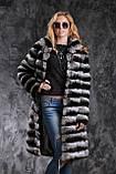 "Шуба из шиншиллы ""Черный бархат"" Natural chinchilla fur coats jackets, фото 5"