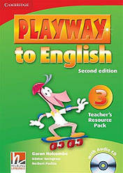 Playway to English 3 Teacher's Resource Pack with Audio CD