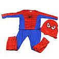 Детский карнавальный костюм Человека паука, костюм супер героя Spiderman, фото 3