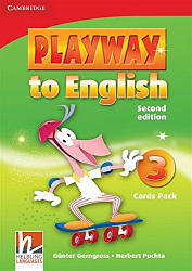 Playway to English 3 Cards Pack