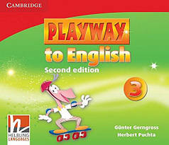 Playway to English 3 Class Audio CDs