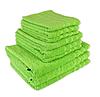 "Полотенце (40х70 см) махровое ""TerryLux Plus"" салатовое"