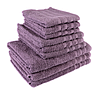 "Полотенце (40х70 см) махровое ""TerryLux Plus"" фиолетовое"