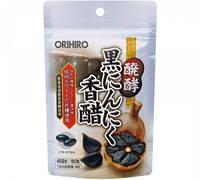 Orihiro черный ферментированный чеснок без запаха, ладан, витамины B1, B6 180 таб на 45 дней