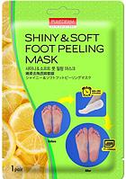 Пилинг - носочки для ног Purederm Shiny Soft Foot Peeling Mask