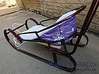 Матрац на санки, фіолетовий