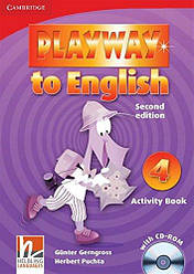 Playway to English 4 Activity Book with CD-ROM
