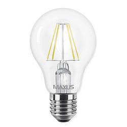Лампа светодиодная Maxus A60 FM (8W, 4100K, 220V, E27)