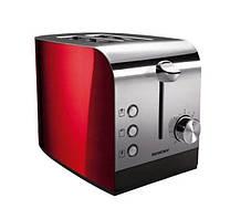 Тостер SilverCrest в ретро стиле (Германия) красный цвет