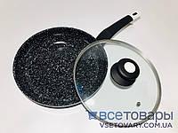 Сковорода с крышкой Edenberg, 24 см EB-4134, фото 1