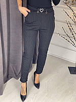 Женские теплые брюки / дайвинг на меху / Украина 29-506, фото 1