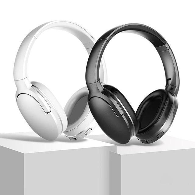 Беспроводные Bluetooth наушники Baseus Encok D02 Wireless Headphone NGD02-01 / NGD02-02 Белые Черные
