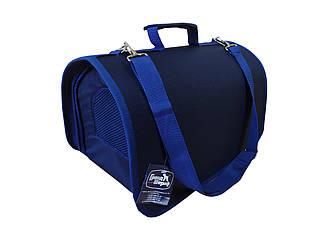 Сумка-переноска Гранд Шериф 34,5х22х21см (синя)