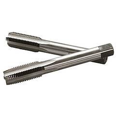 Метчик ручной М8 х 1,0 мм, комплект из 2 шт.// СИБРТЕХ