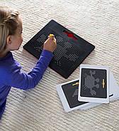 Магнитный планшет для рисования Mag Pad черный 714 шариков MP714B, фото 3